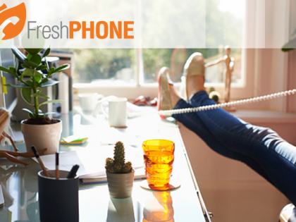 Get free home telephone calls with Fresh PHONE